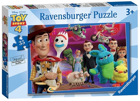 Disney Pixar 'Toy Story 4' 35 Piece Jigsaw Puzzle for Kids