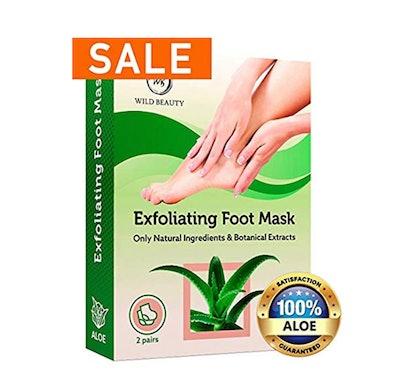 Wild Beauty Exfoliating Foot Peel