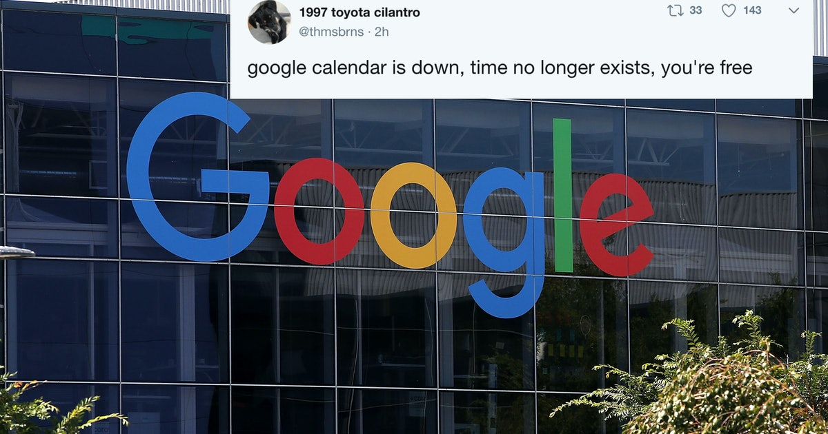 These Tweets About Google Calendar's Outage Show No One Knows What To Do