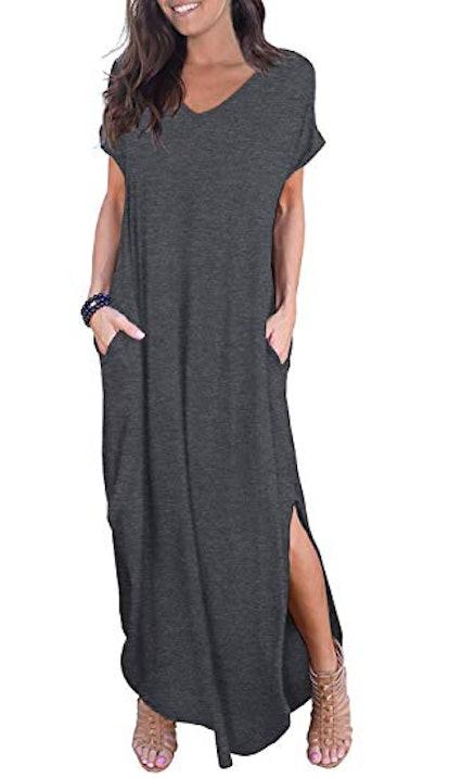 GRECERELLE Women's Casual Long Dress