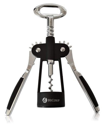 Wing Corkscrew Wine Opener by HiCoup