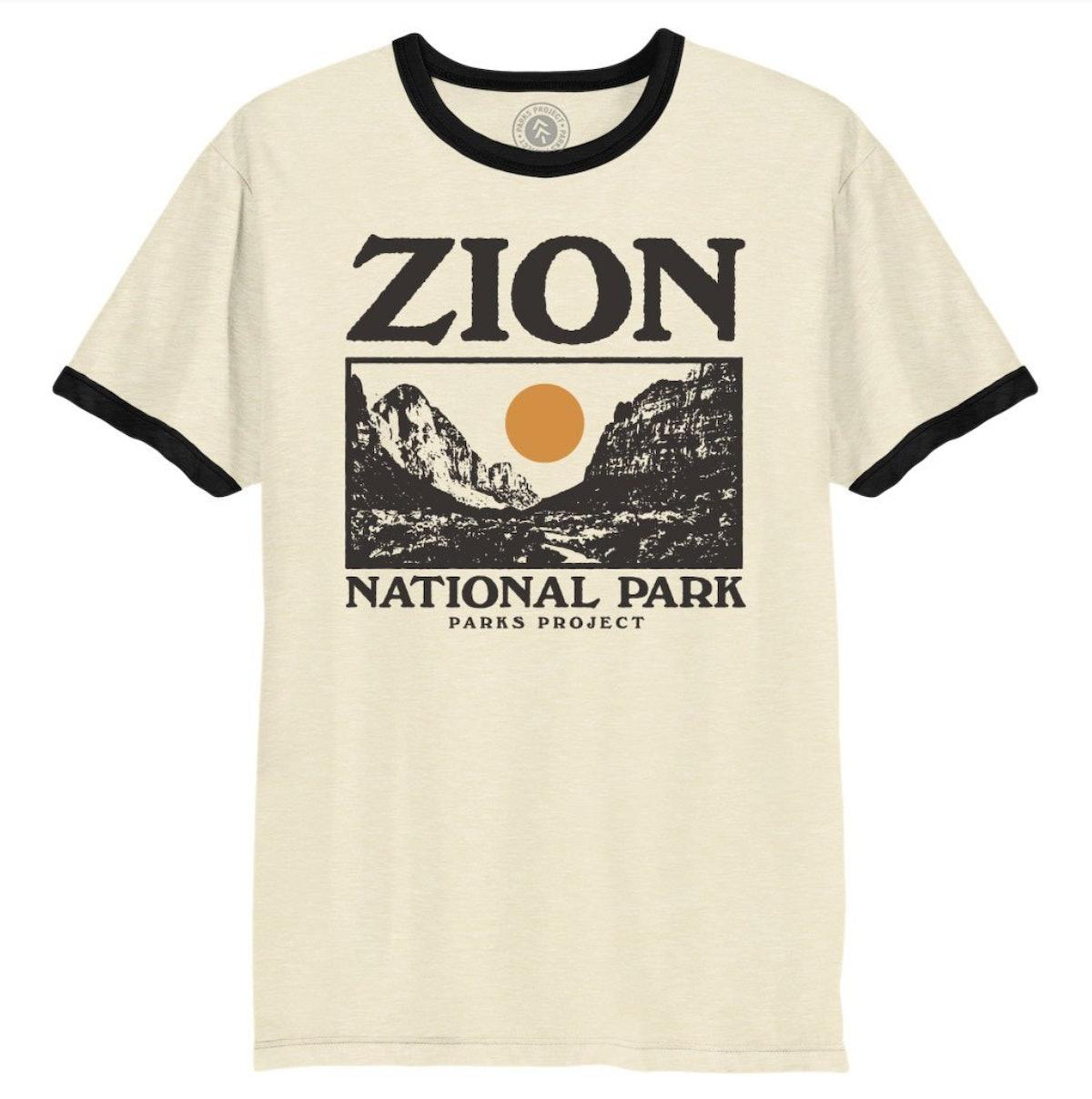 Zion Photo Ringer Tee