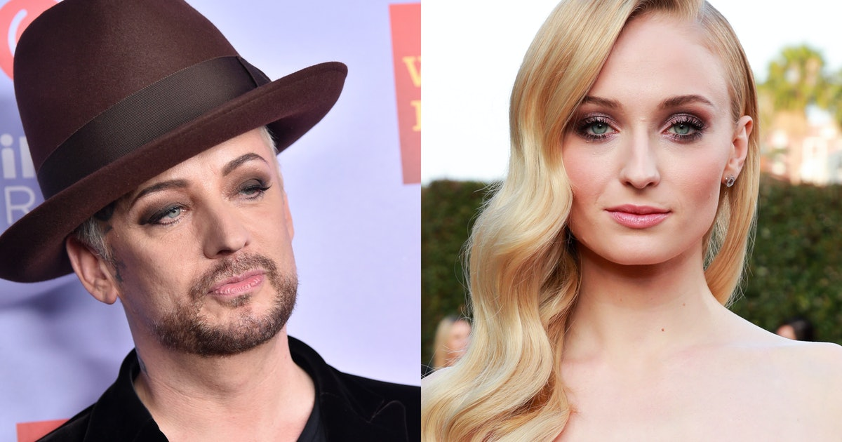 Boy George Wants Sophie Turner To Play Him In His Biopic, & She's So Down