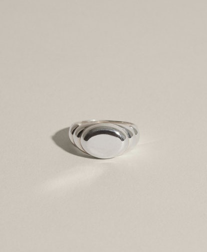 Duet Signet Ring in Silver