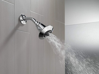 Delta Faucet 2-Spray H2Okinetic Shower Head