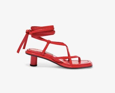 Strappy Mid Heel Sandals
