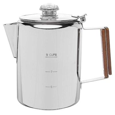 """Coletti """"Bozeman"""" 9-Cup Coffee Percolator"""