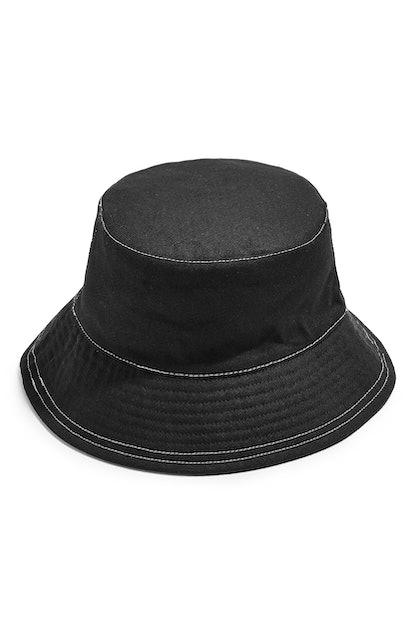 Topstitch Bucket Hat