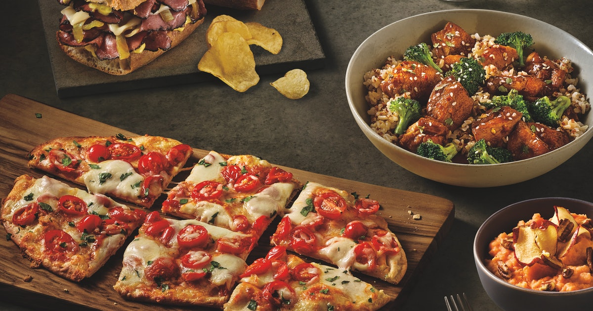 Panera Is Testing 10 New Dinner Items, Including Flatbreads & Parmesan Broccoli