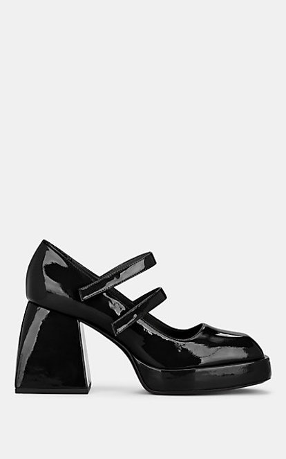 Babies Bulla Leather Mary Jane Pumps