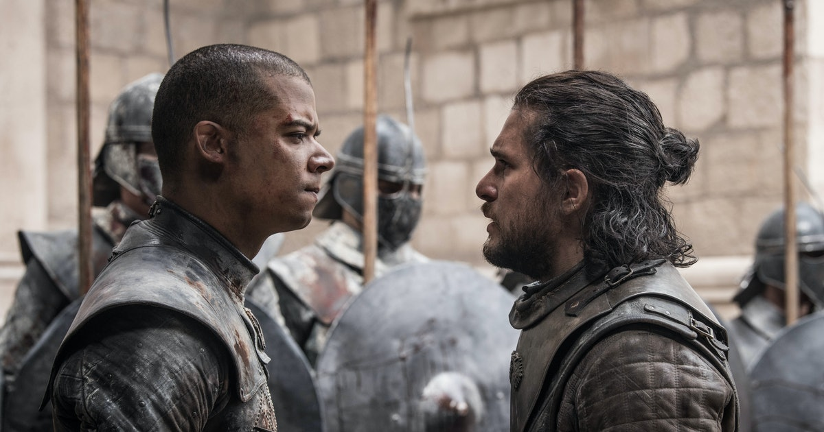 Jacob Anderson's Idea For Grey Worm's Death WIll Make 'GOT' Fans Smile