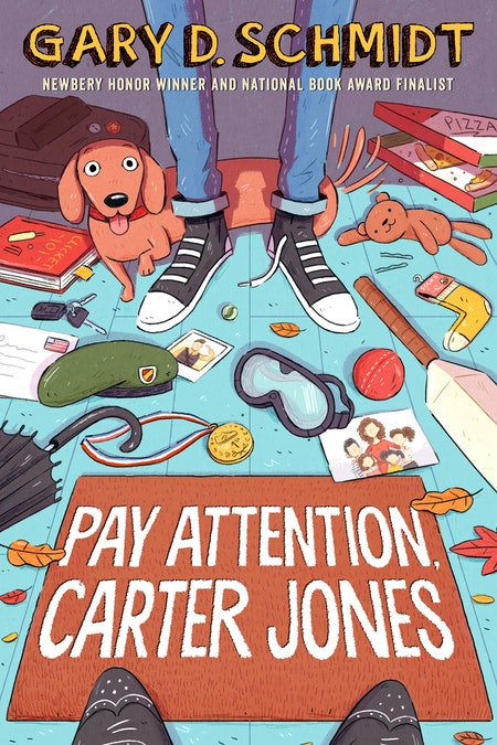 'Pay Attention, Carter Jones' by Gary D. Schmidt