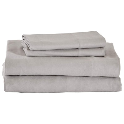 Stone & Beam Rustic Flannel Sheet Set, Queen