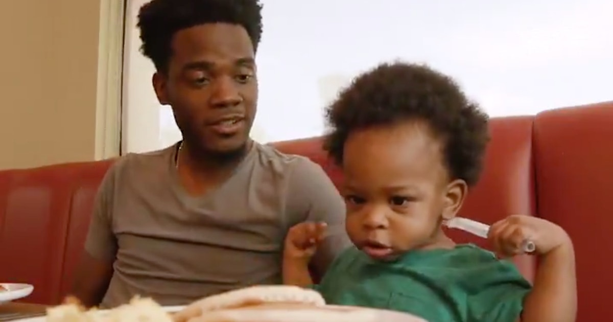The Baby & Dad Having A Convo In That Viral Video Starred In An Adorable Denny's Commercial
