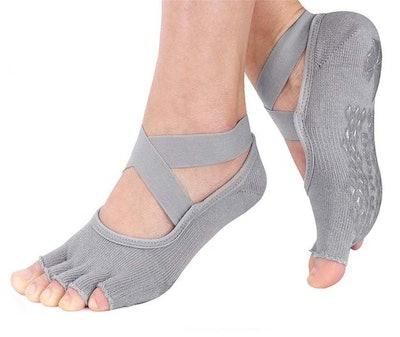 Hylaea Non-Slip Toeless Socks
