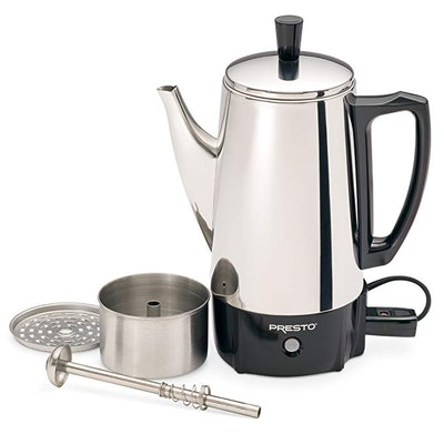 Presto 6-Cup Stainless Steel Coffee Percolator