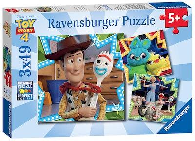 Disney Pixar 'Toy Story 4' 49-Piece Jigsaw Puzzles