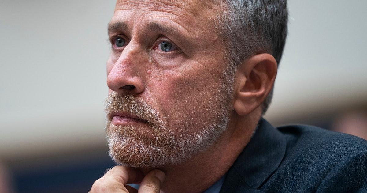 Jon Stewart's response to Mitch McConnell about the 9/11 Victim Compensation Fund is incredibly powerful