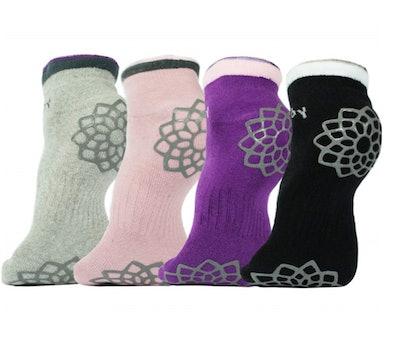 DubeeBaby Non-Slip Socks (4 Pack)
