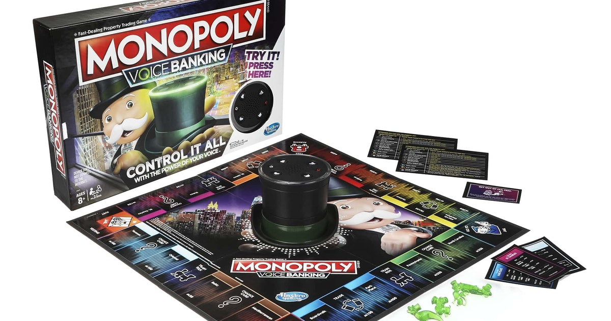 Monopoly's New Voice-Activated Version Doesn't Use Any Actual Paper Money