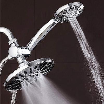 "AquaDance 7"" Premium High Pressure 3-Way Rainfall Combo Showerhead"