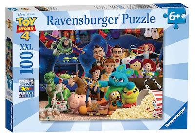 Disney Pixar 'Toy Story 4' 100 Piece Jigsaw Puzzle for Kids