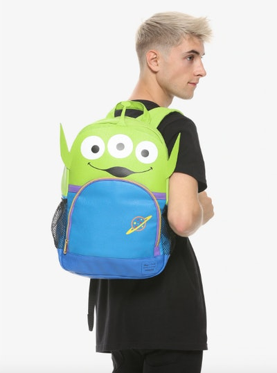 Loungefly Disney Pixar Toy Story Alien Faux Leather Backpack