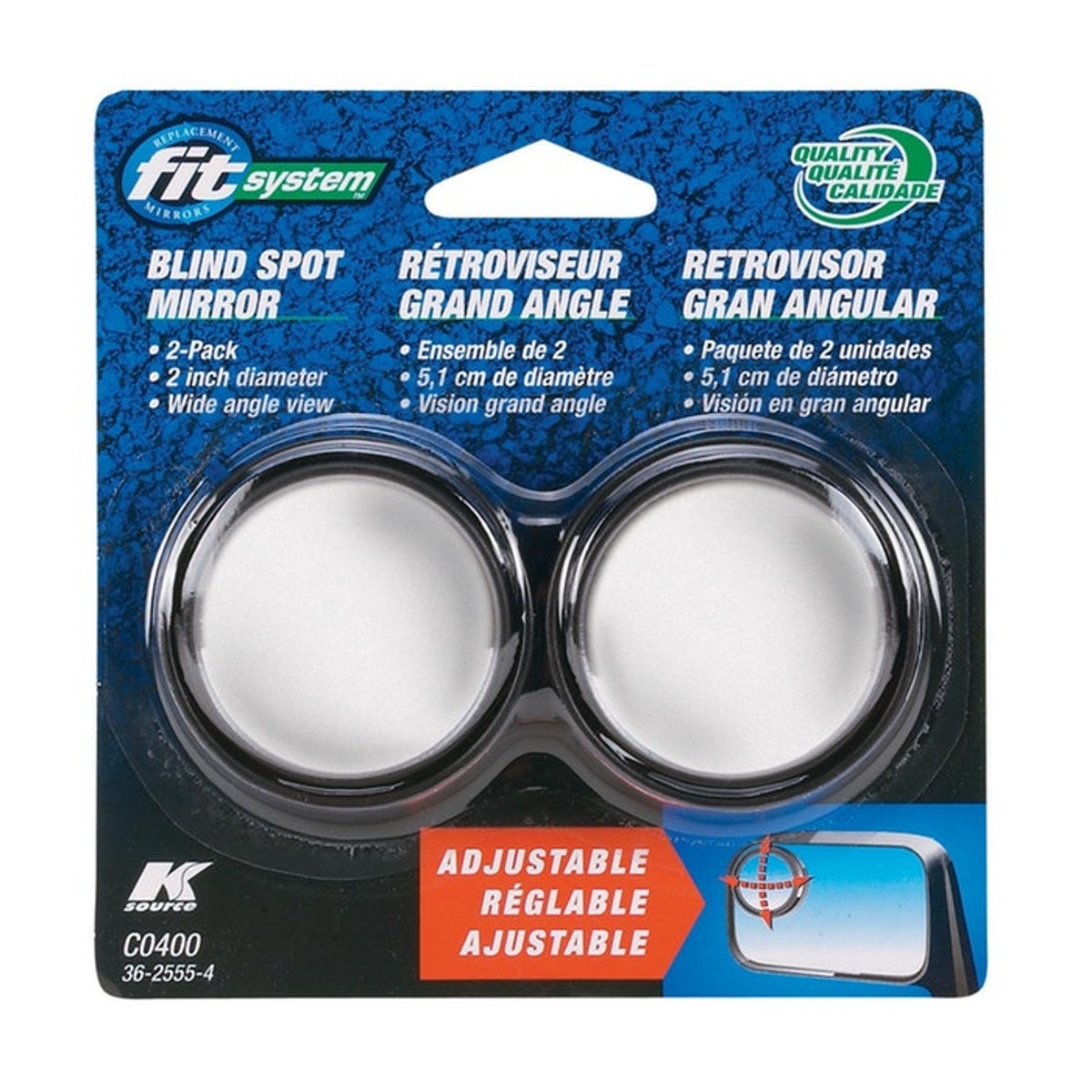 Fit System Blind Spot Mirrors (2 Pack)