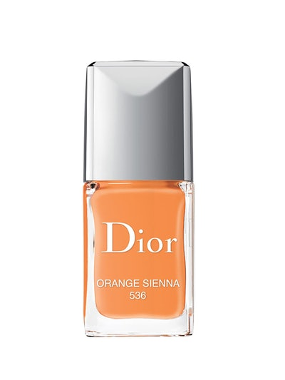 Vernis Gel Shine & Long Wear Nail Lacquer In Orange Sienna