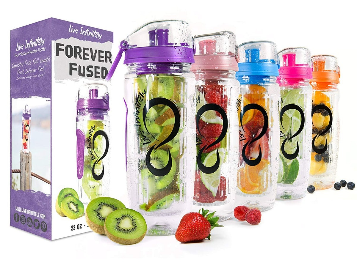 Live Infinitely Infuser Water Bottle