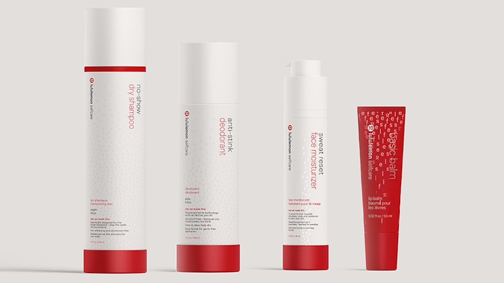 56da1d7b0c7 This Lululemon Self-Care Beauty Line Review Proves The Products Stand Up To  Sweat