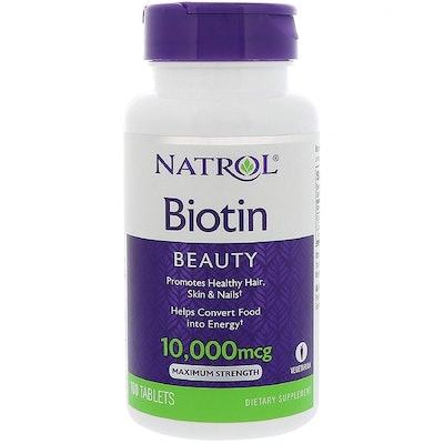 Natrol Biotin 10,000 mcg (100 Tablets)