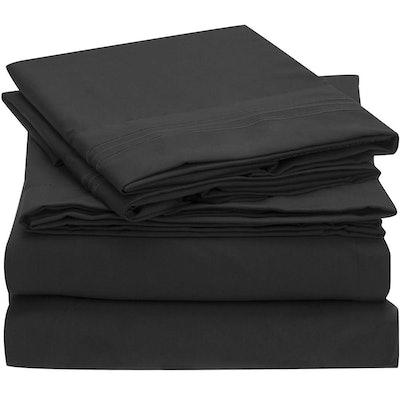 Mellanni Brushed Microfiber Bed Sheet Set, Queen