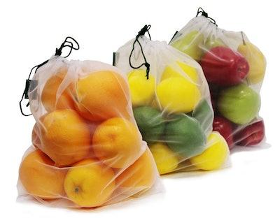 Earthwise Reusable Mesh Produce Bags (Set of 9)