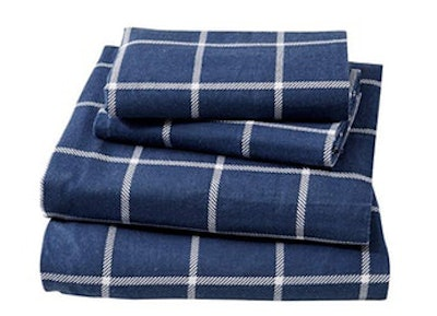 Great Bay Home Extra Soft 100% Turkish Cotton Flannel Sheet Set