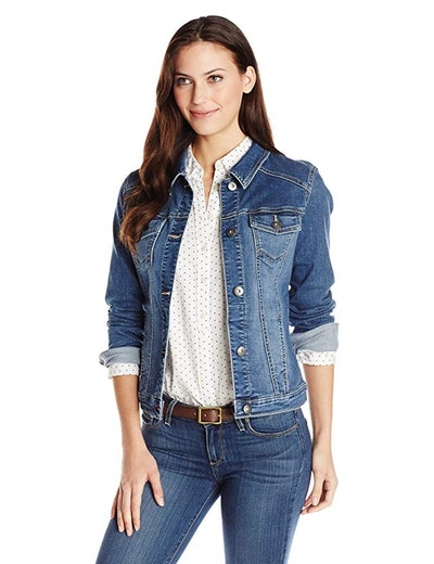 Wrangler Authentics Women's Stretch Denim Jacket