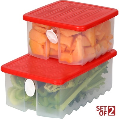 Signora Ware Fruit and Vegetable Keepers (Set of 2)