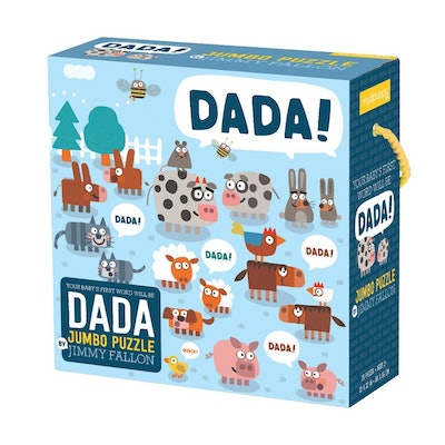 Your Baby's First Word Will Be Dada Jumbo Puzzle