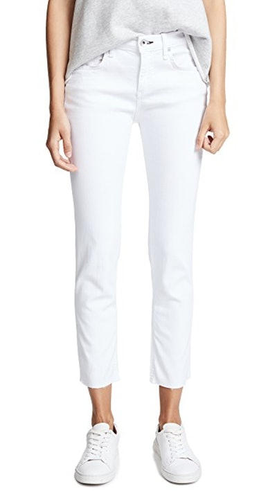 The Ankle Dre Slim BF Jeans
