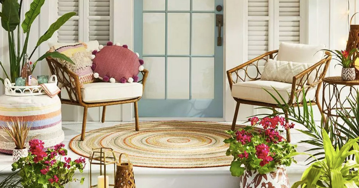 10 Outdoor Decorative Essentials From Target For Under $50