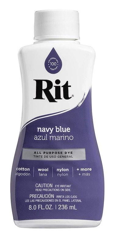 Rit Liquid Fabric Dye, Navy Blue