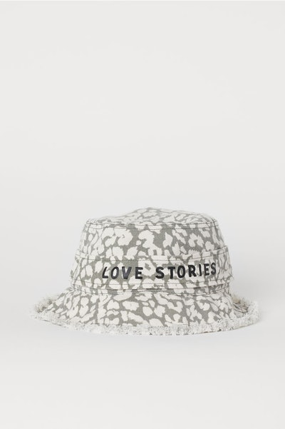 Cotton Twill Sun Hat