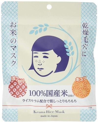 Keana Nadeshiko Rice Mask (10 Pack)