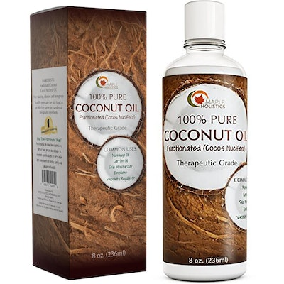 Maple Holistics 100 Percent Pure Coconut Oil