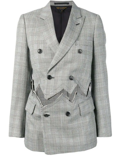 Detached Double-Breasted Blazer