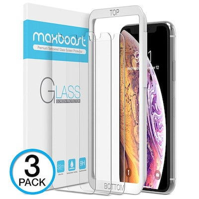 MaxBoost iPhone Screen Protector (3 Pack)