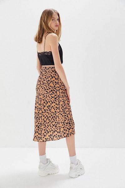 Rowan Satin Slip Skirt