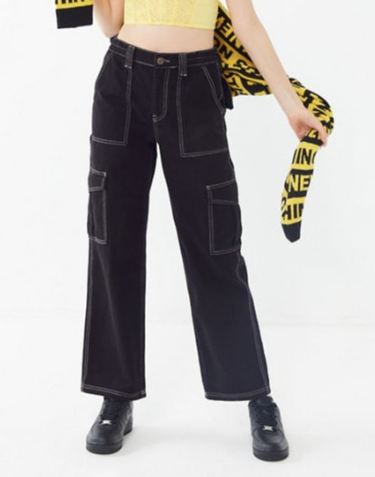 BDG High-Rise Contrast Stitch Skate Jean