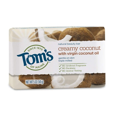 Tom's Of Maine Natural Beauty Bar Soap With Virgin Coconut Oil (Pack of 6)