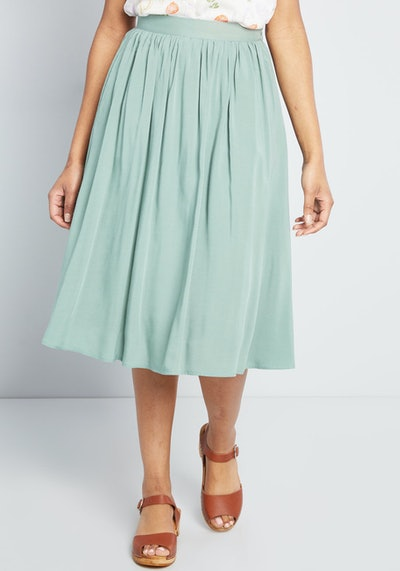 Match Made Midi Skirt